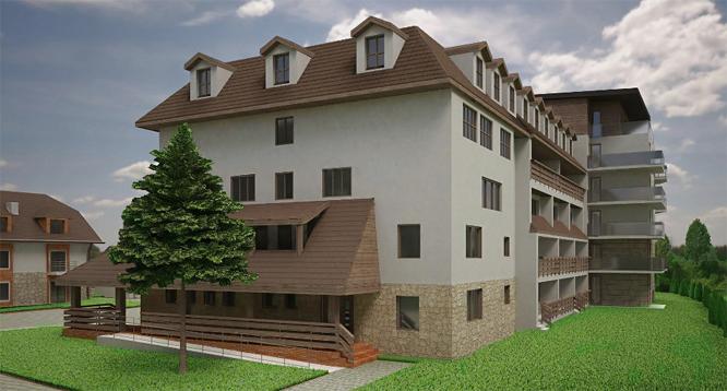 Budynek apartamentowiec - widok 1